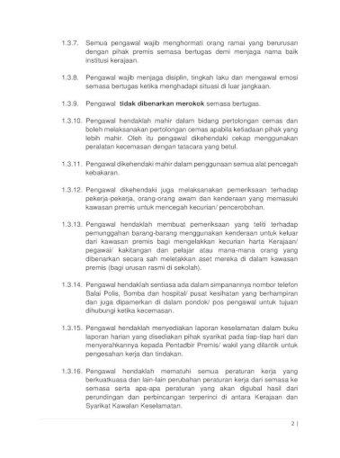 Skop Dan Spesifikasi Perkhidmatan Kawalan Keselamatan Pemantauan Oleh Pihak â œkerajaanâ Atau Pejabat Pdf Document
