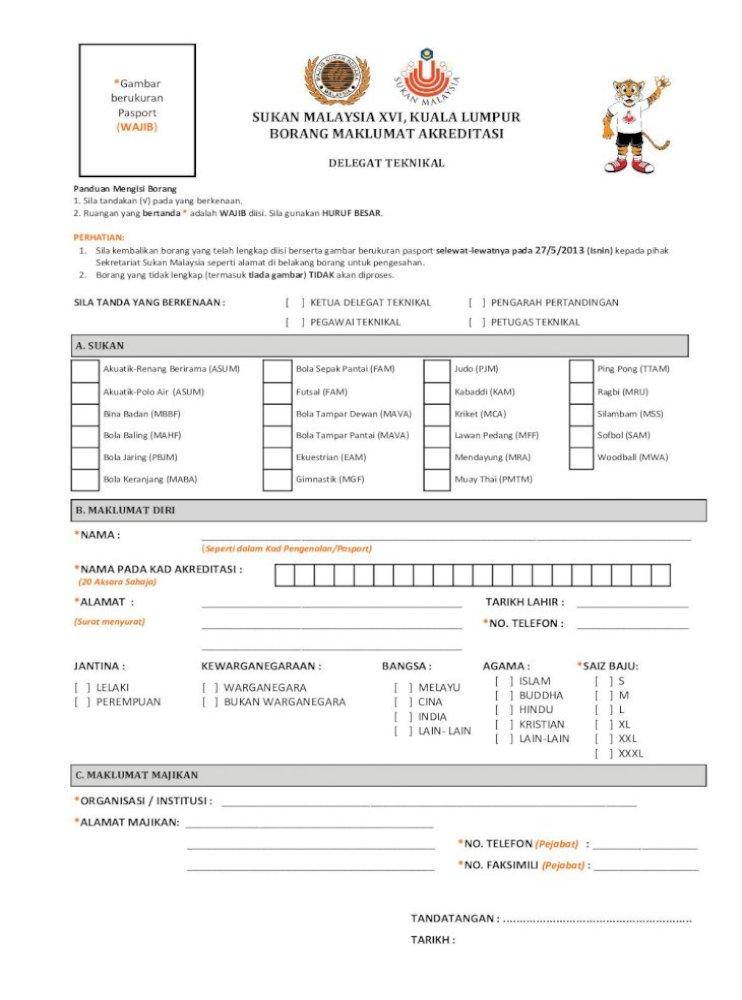 Sukan Malaysia Xvi Kuala Lumpur Wajib Borang Borang Yang Tidak Lengkap Bola Jaring Pbjm Ekuestrian Eam 4 Skor Pemarkahan 9 Gelanggang Pertandingan Pdf Document