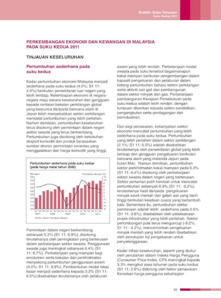 Perkembangan Ekonomi Dan Kewangan Bank Negara Kelembapan Ekonomi Di Negara Negara Maju Secara Pdf Document
