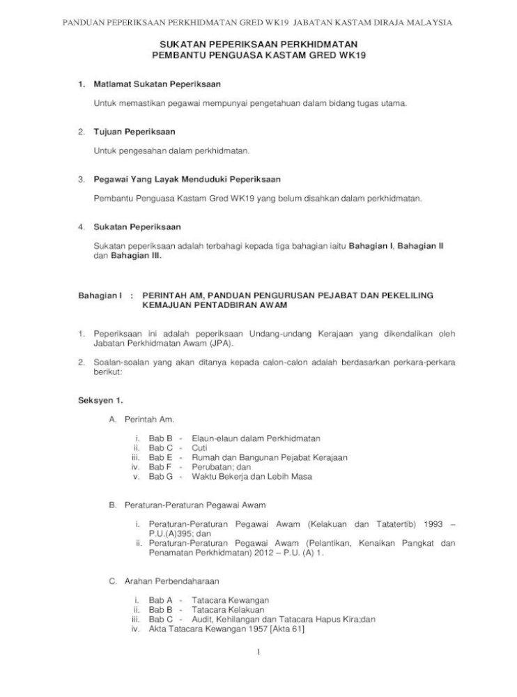Peraturan Peraturan Pegawai Awam Kelakuan Dan Tatatertib 1993 Pdf