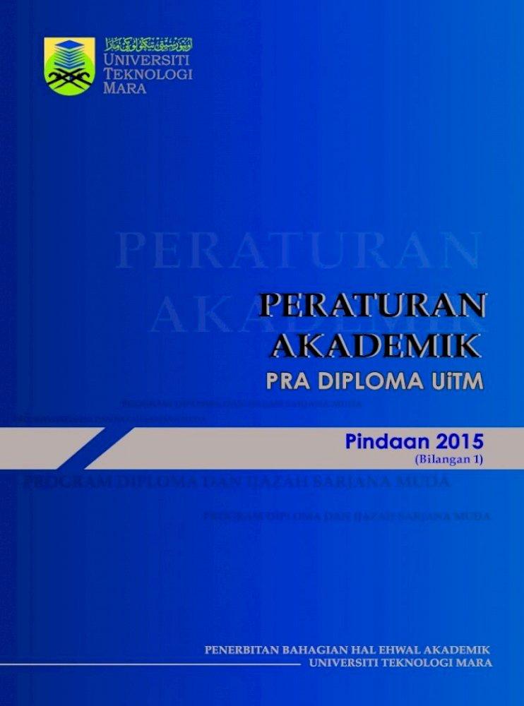 Pra Diploma Uitm Senarai Jadual Jadual 1 Untuk Menjalankan Tugas Membimbing Pelajar Dalam Hal Pdf Document