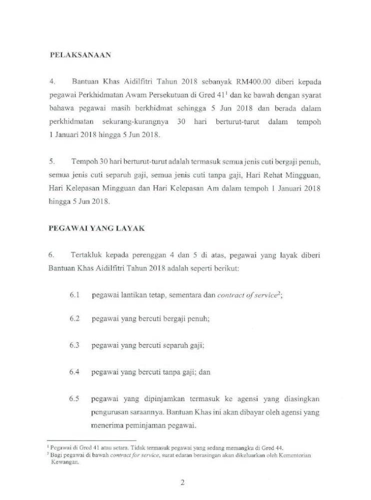 Pekeliling Perkhidmatan Bilangan 1 Tahun 2018 Bantuan Docs Jpa Gov My Docs Pp 2018 Bantuan Pdf Document