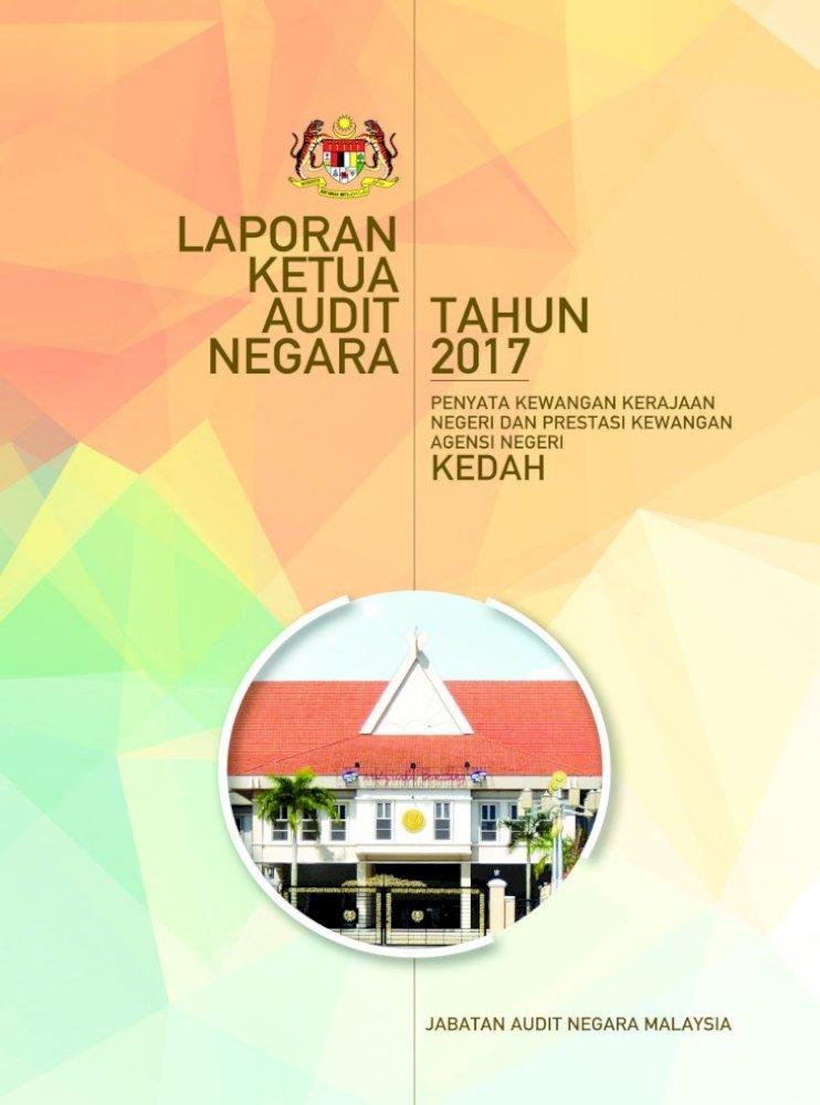 Laporan Ketua Audit Negara Cmd 34 Pdf Lkan Penyata Kewangan Negeri Kedah 2017 Iv 69 Rumusan Pdf Document