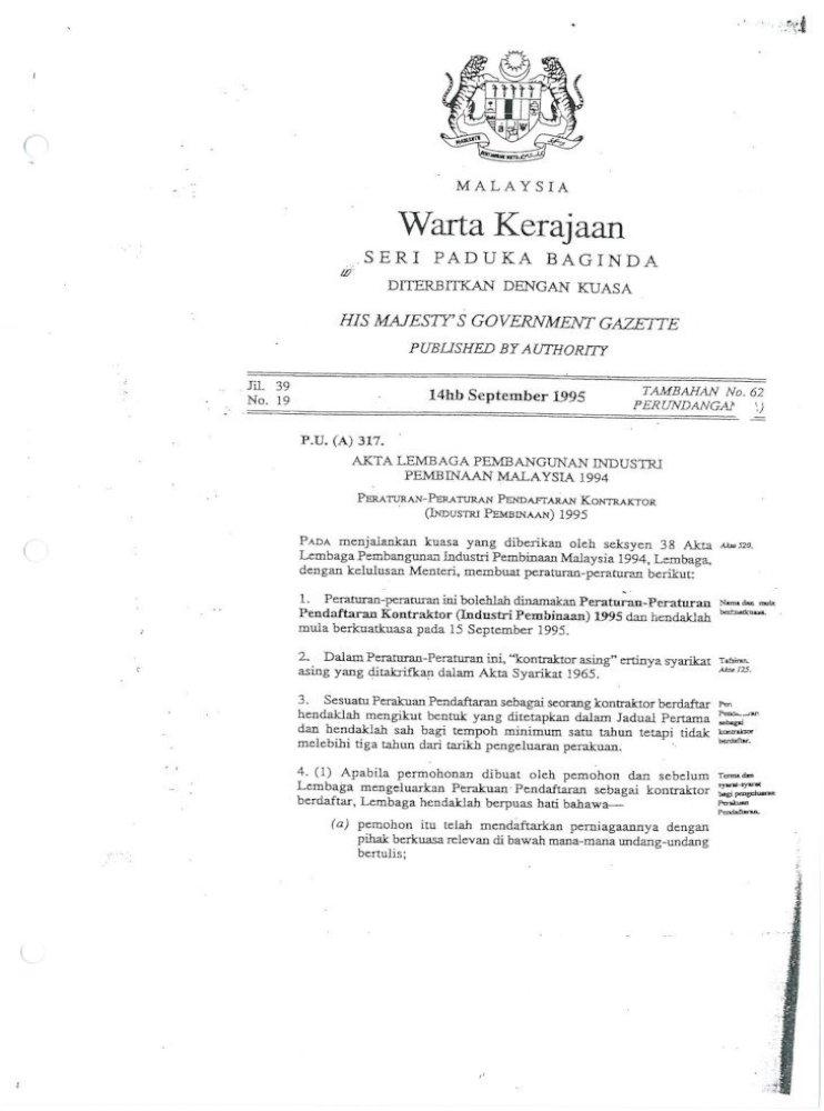 Elektrik Headaklah Berdaftar Sebagai Seorang Kontraktor Elektrik Dan Memegang Pendaftaran Sebagai Kontraktor Pdf Document