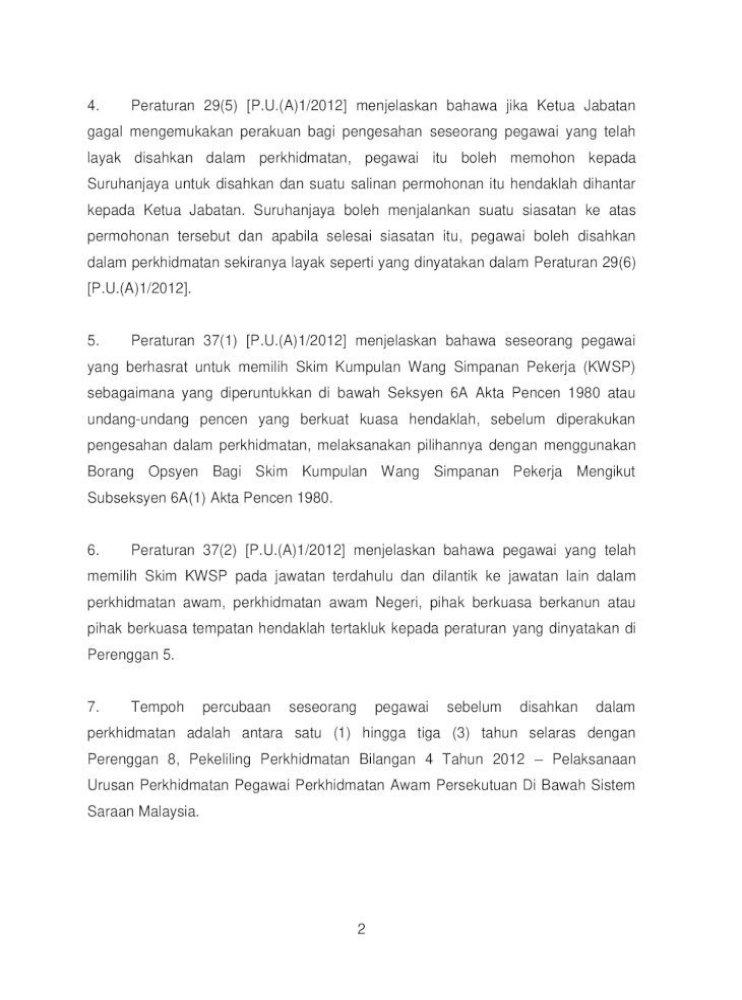 Senarai Tugas Pembantu Tadbir Perkeranian Operasi N19 Spp